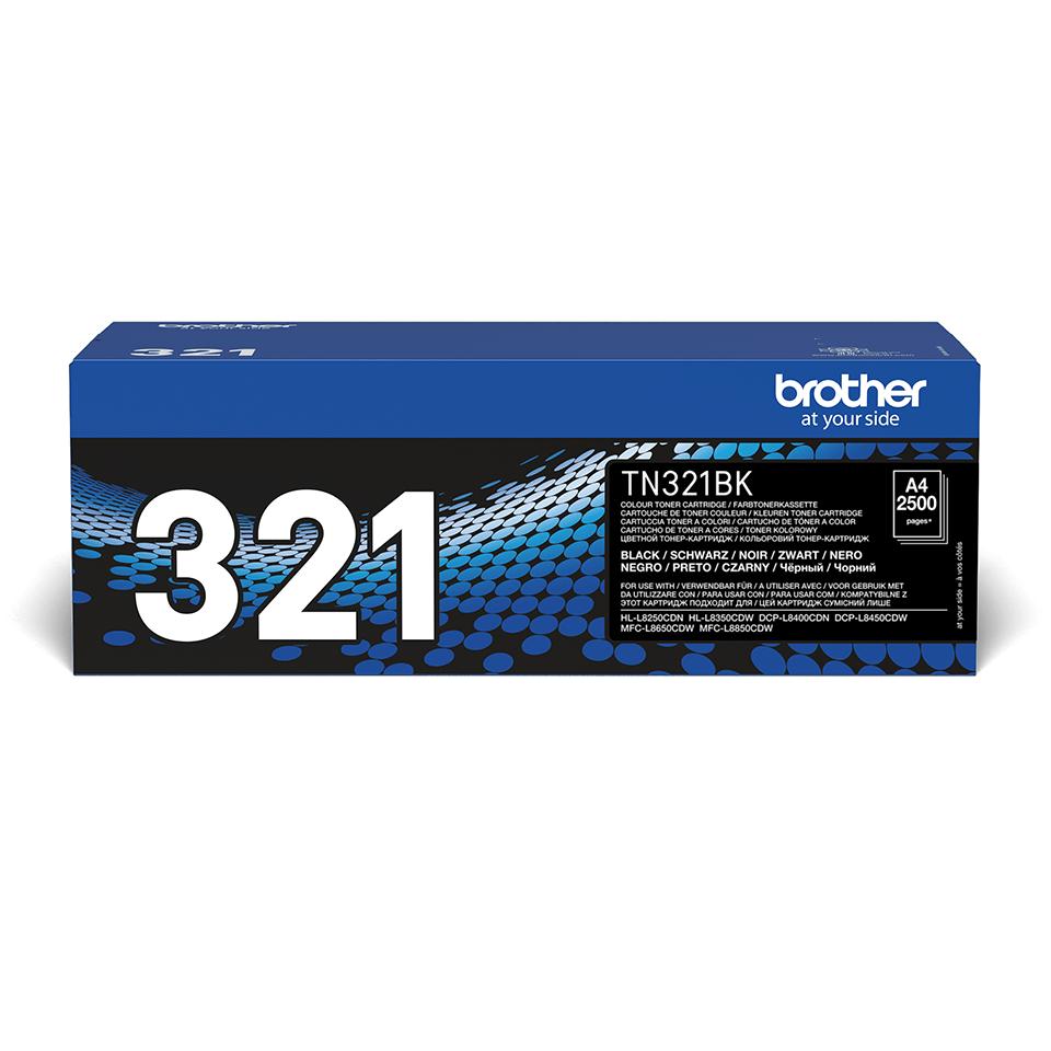 Brother TN-321BK Tonerkartusche – Schwarz 2