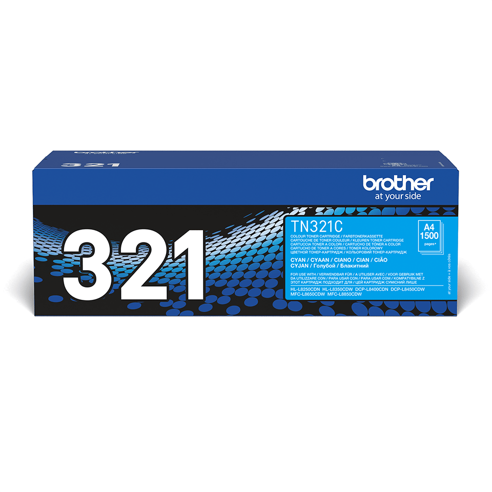 Brother TN-321C Tonerkartusche – Cyan