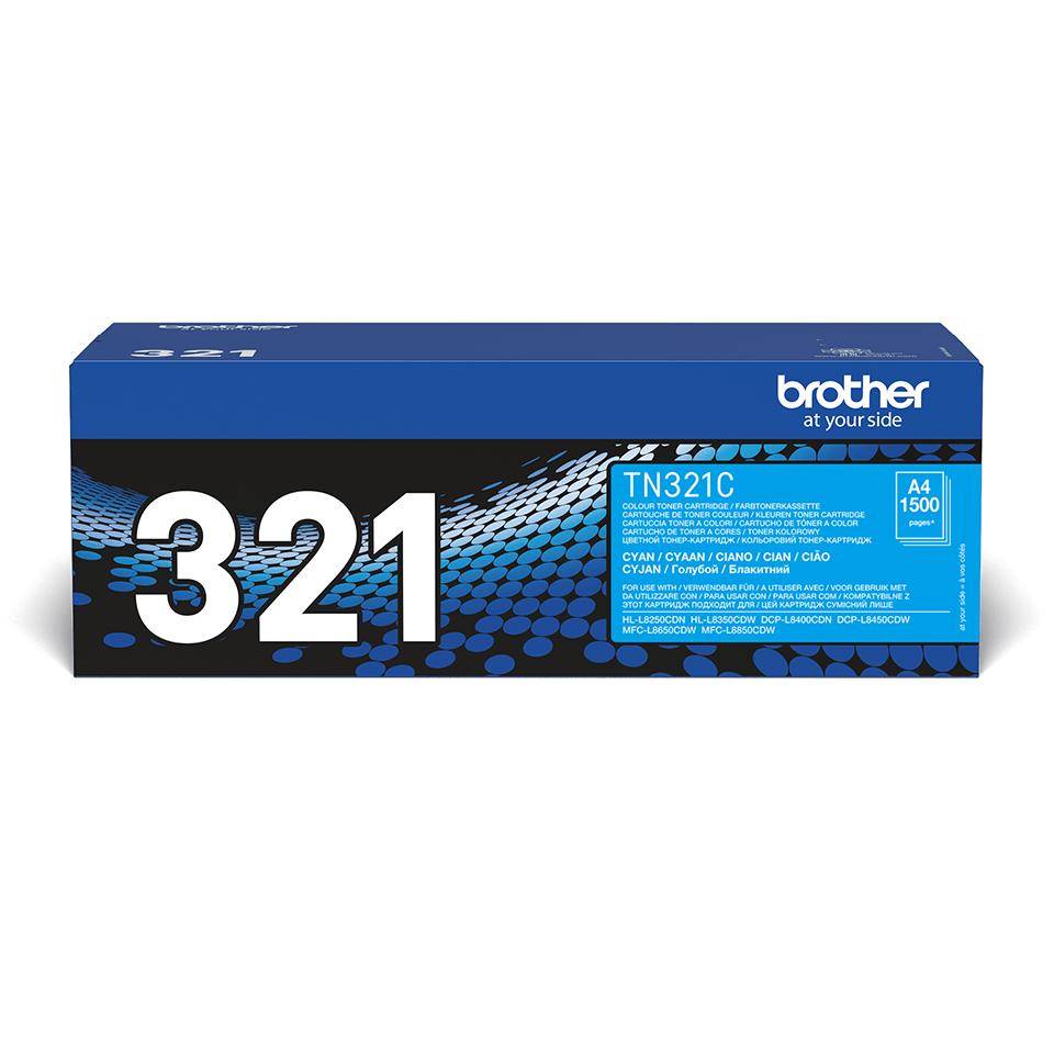 Brother TN-321C Tonerkartusche – Cyan