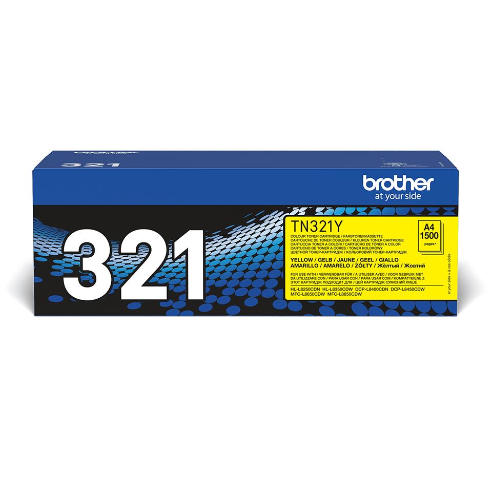 Brother TN-321Y Tonerkartusche – Gelb 2