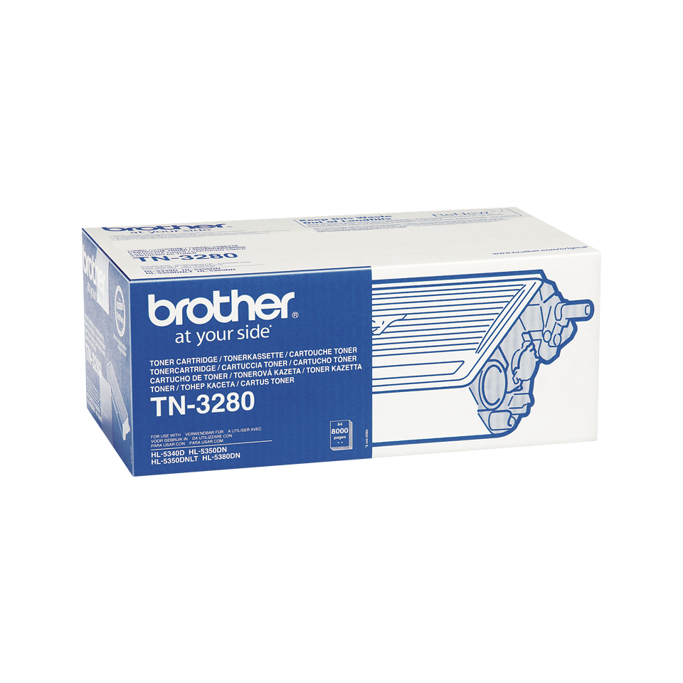 Brother TN-3280 Tonerkartusche – Schwarz 2