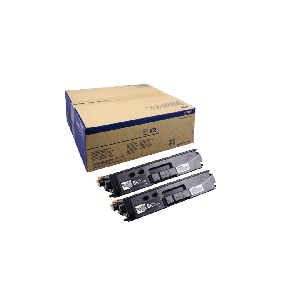 Brother TN-329BK Tonerkartusche Twin Pack