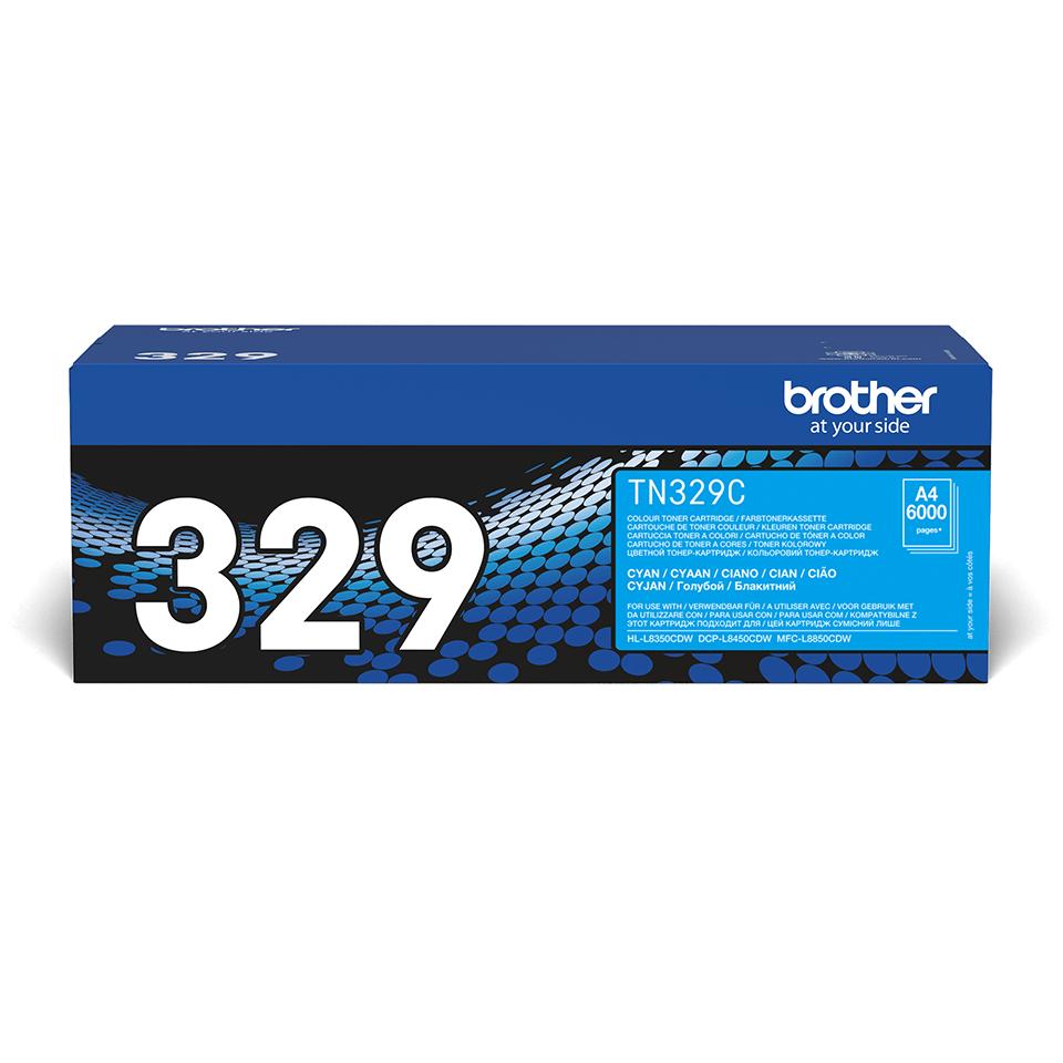 Brother TN-329C Tonerkartusche – Cyan