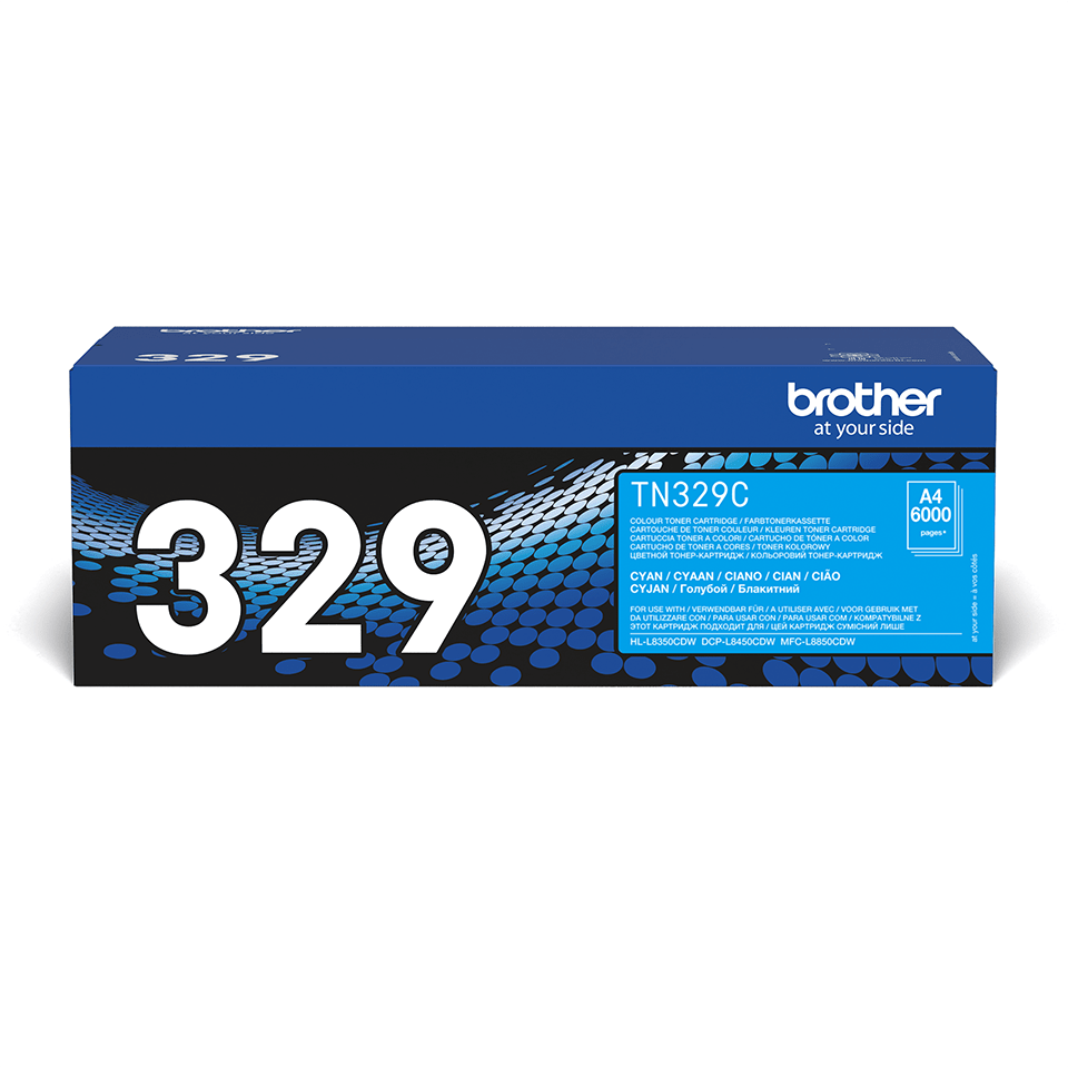 Brother TN-329C Tonerkartusche – Cyan 2