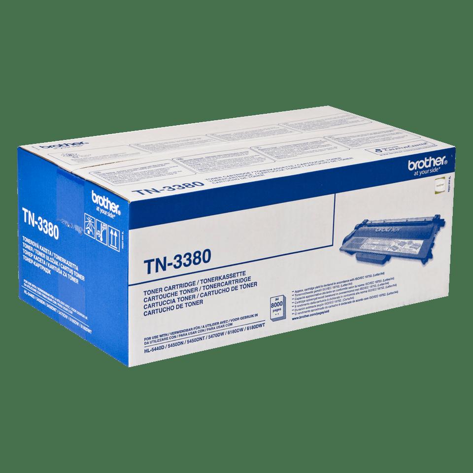 Brother TN-3380 Tonerkartusche – Schwarz 2
