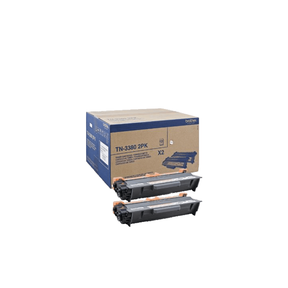 Brother TN-3380 Tonerkartusche Twin Pack