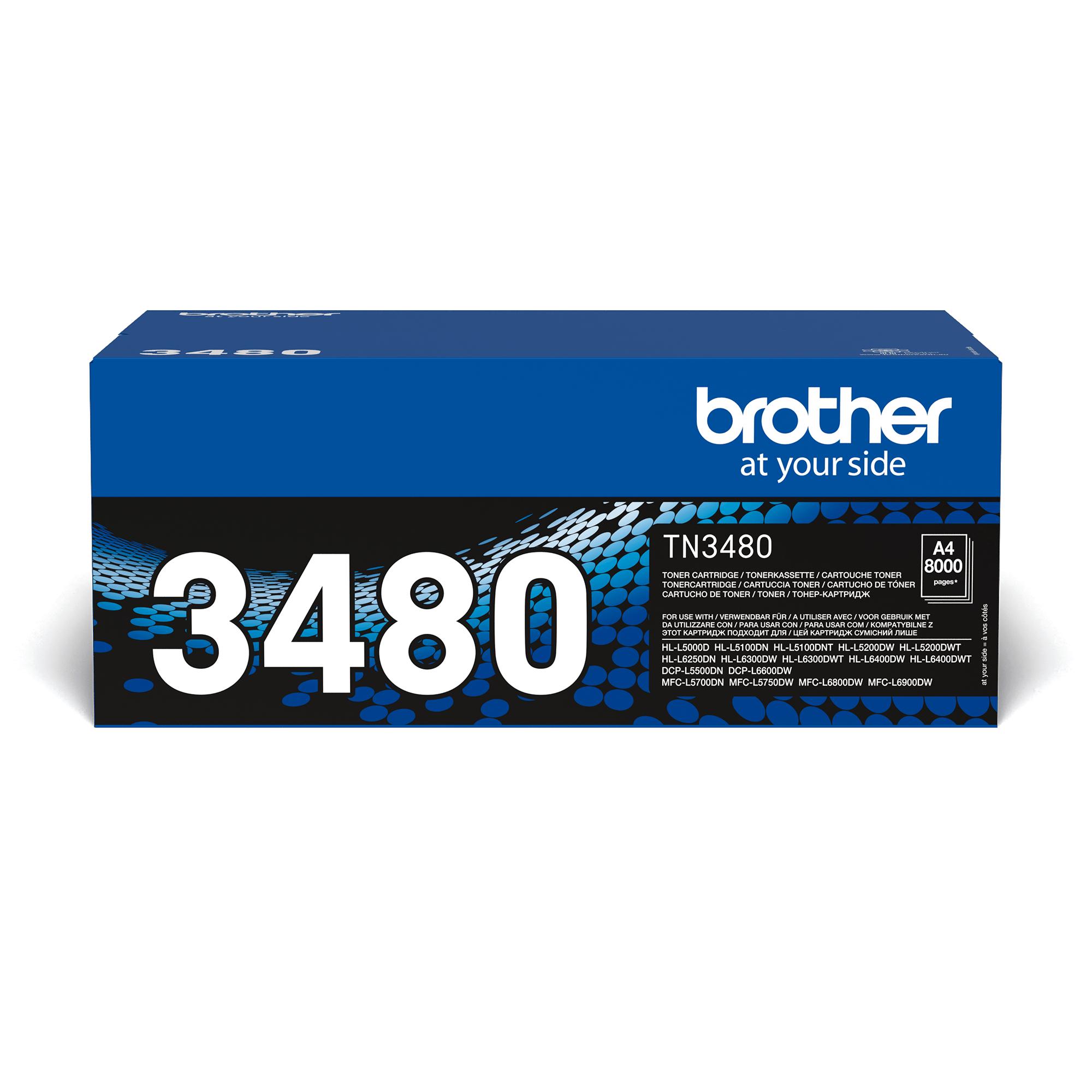Brother TN-3480 Tonerkartusche – Schwarz 2