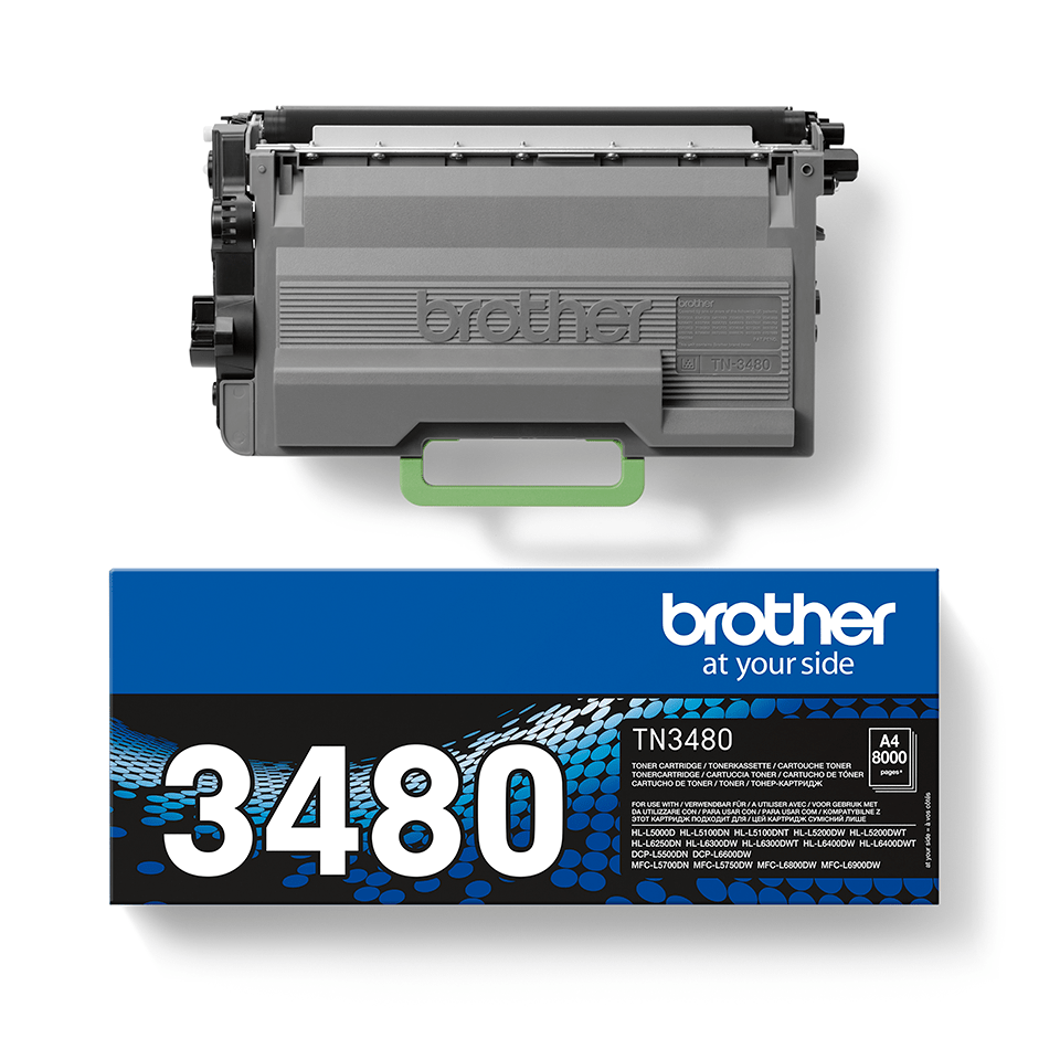Brother TN-3480 Tonerkartusche – Schwarz