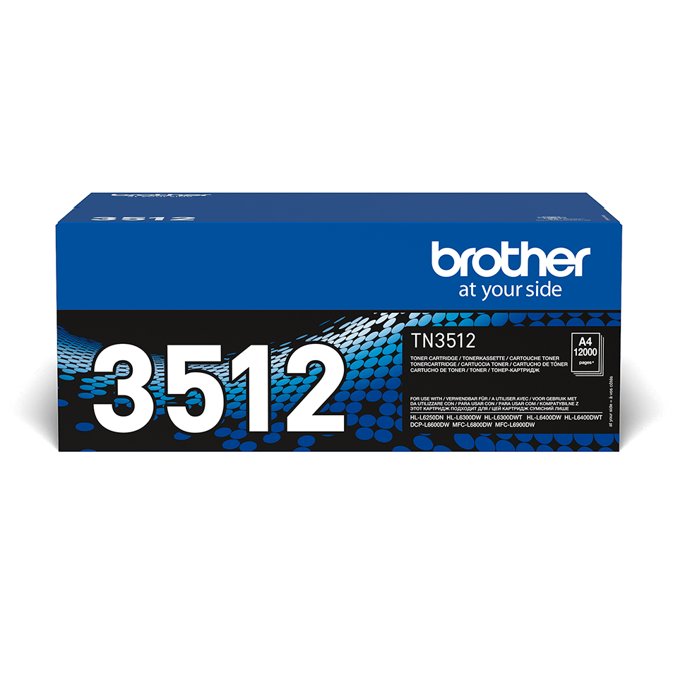 Brother TN-3512 Tonerkartusche – Schwarz 2