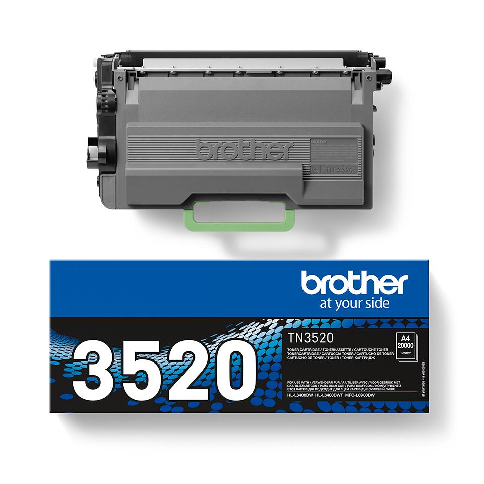 Brother TN-3520 Tonerkartusche – Schwarz 2
