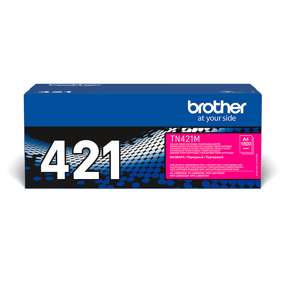 Brother TN-421M Tonerkartusche – Magenta 2