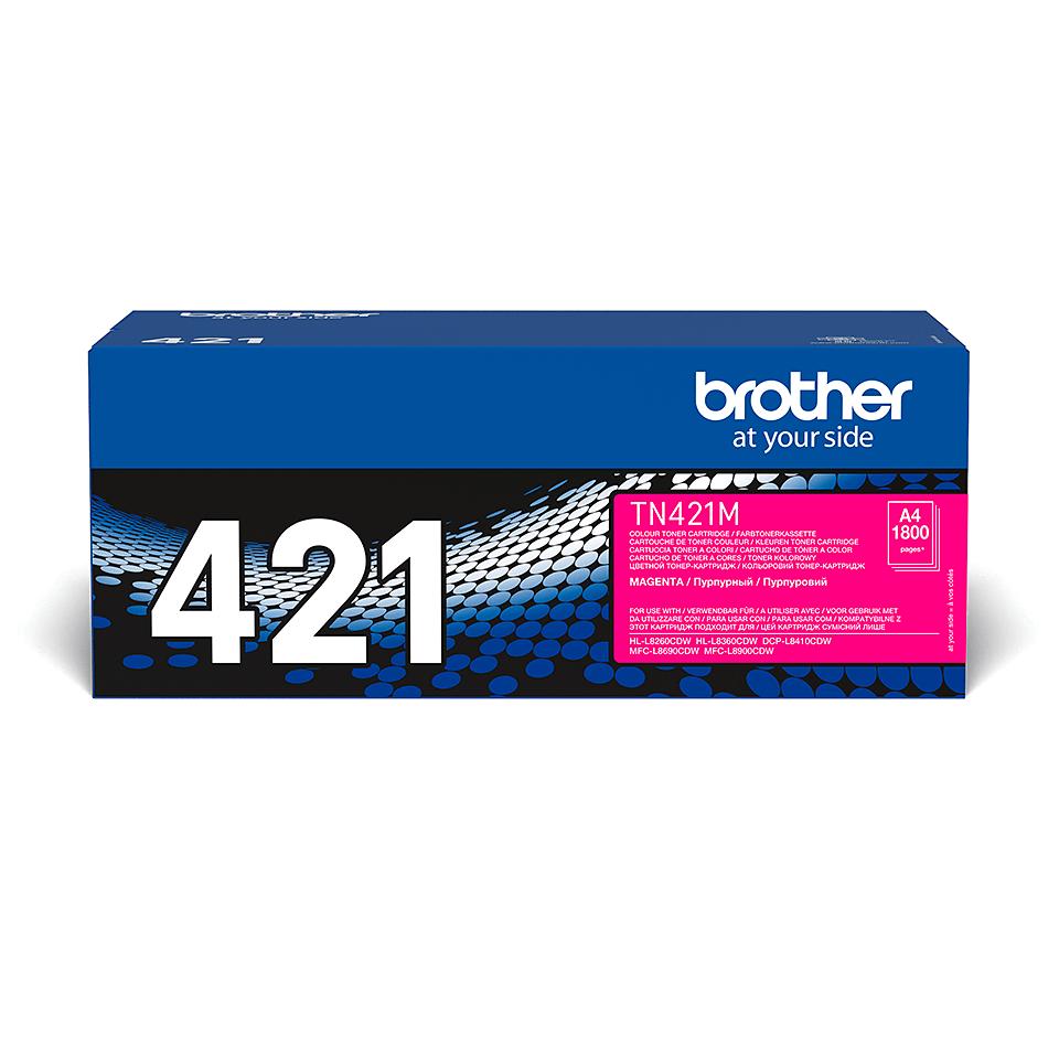Brother TN-421M Tonerkartusche – Magenta 1