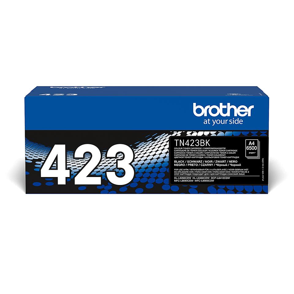 Brother TN-423BK Tonerkartusche – Schwarz 0