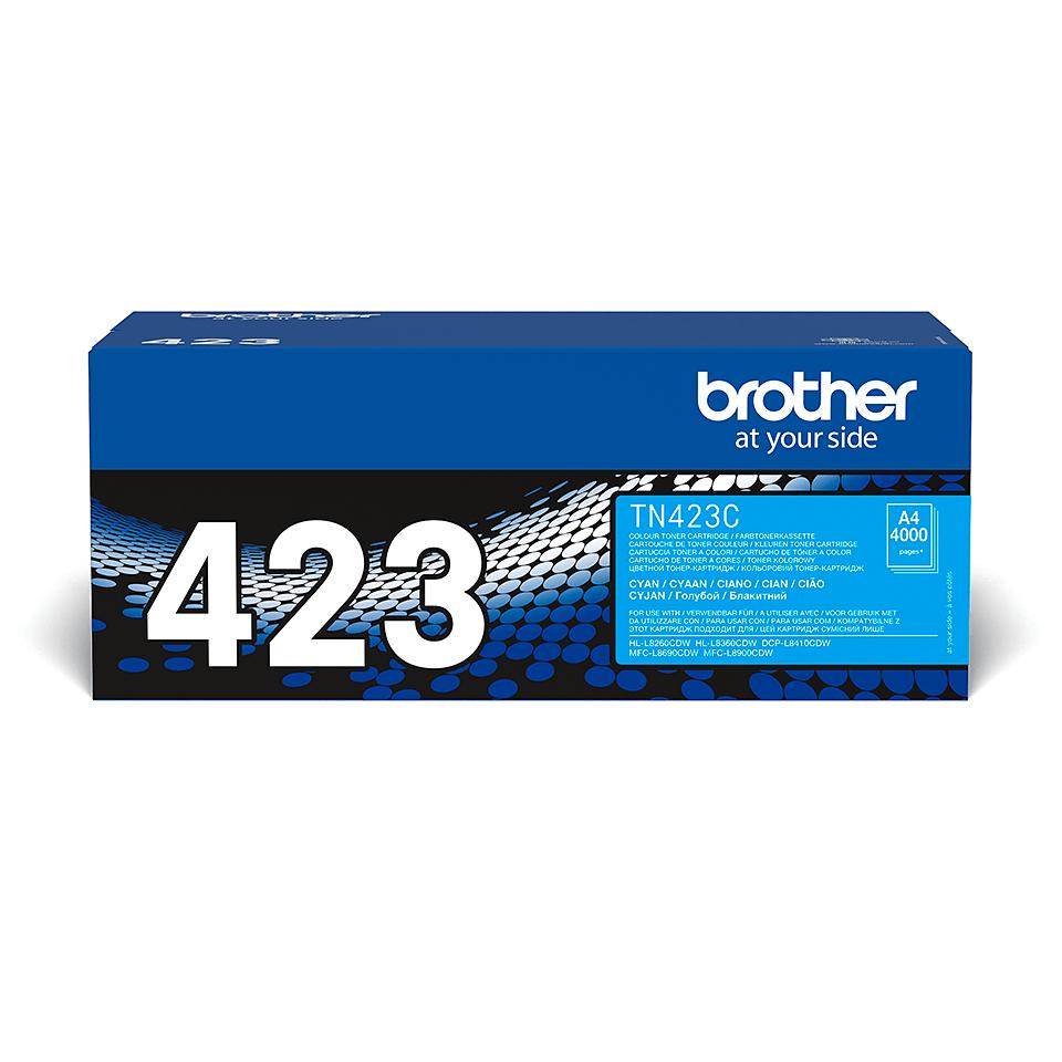 Brother TN-423C Tonerkartusche – Cyan 0