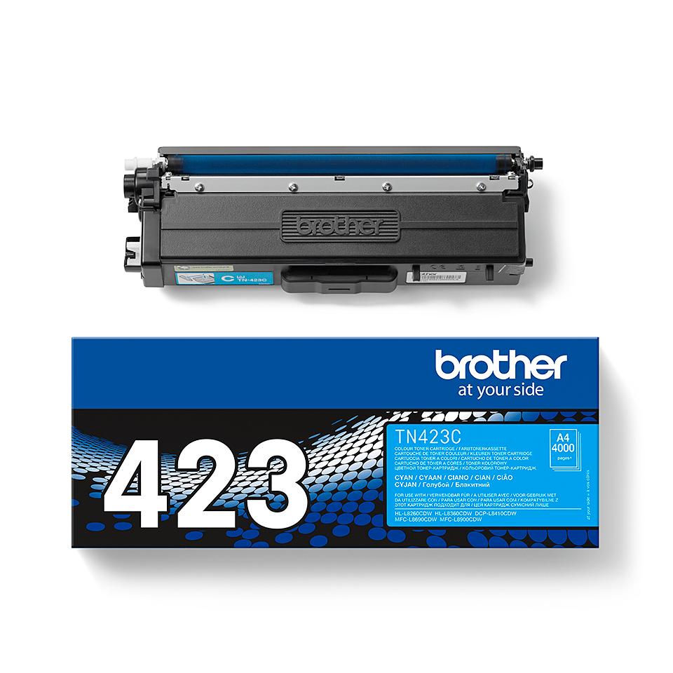 Brother TN-423C Tonerkartusche – Cyan 1
