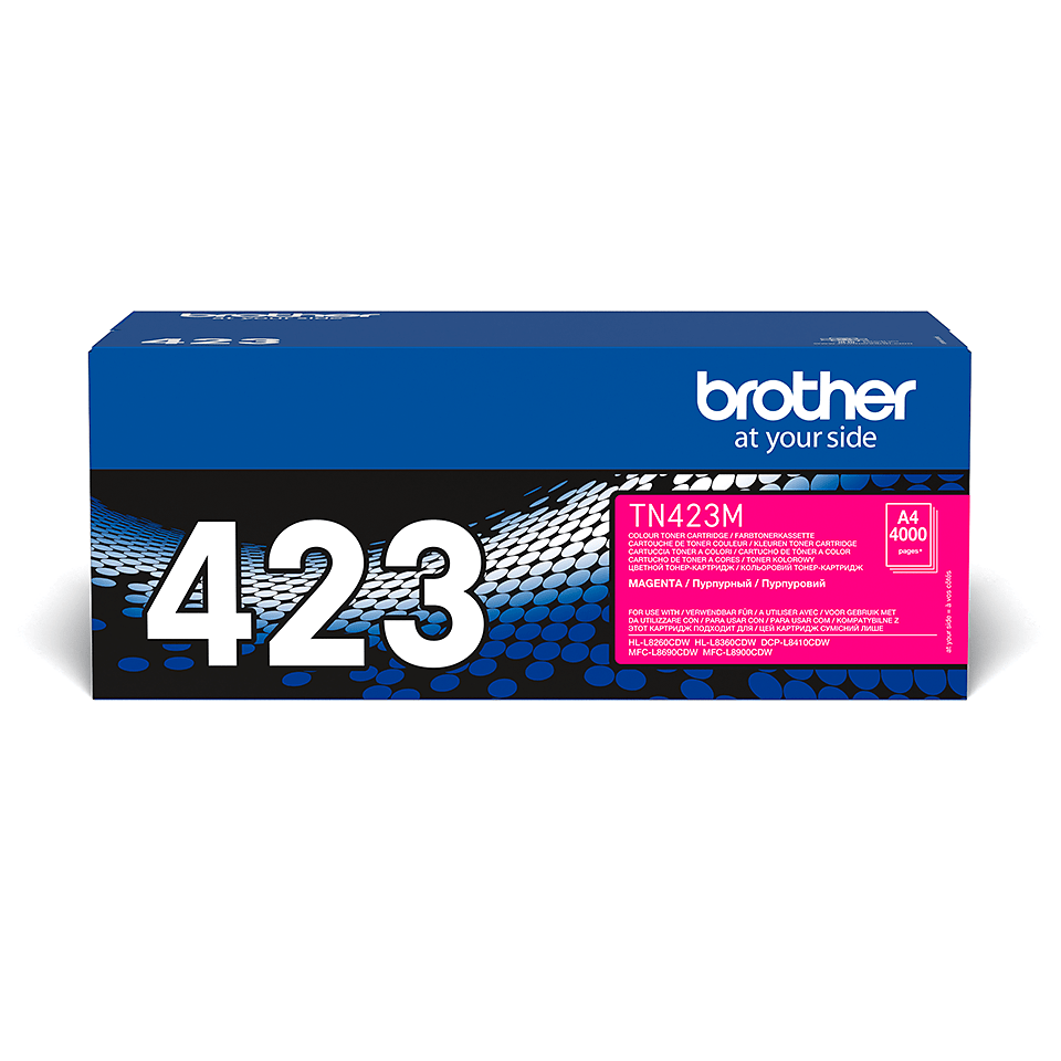 Brother TN-423M Tonerkartusche – Magenta 2