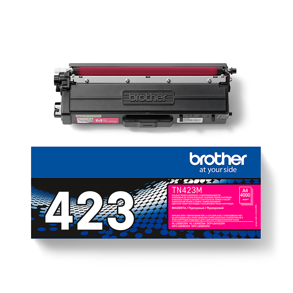 Brother TN-423M Tonerkartusche – Magenta 1