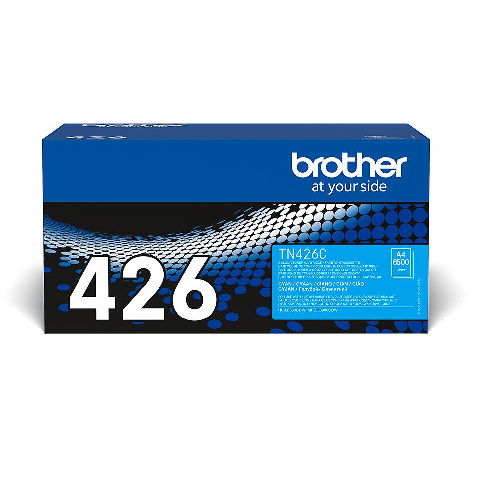 Brother TN-426C Tonerkartusche – Cyan 2