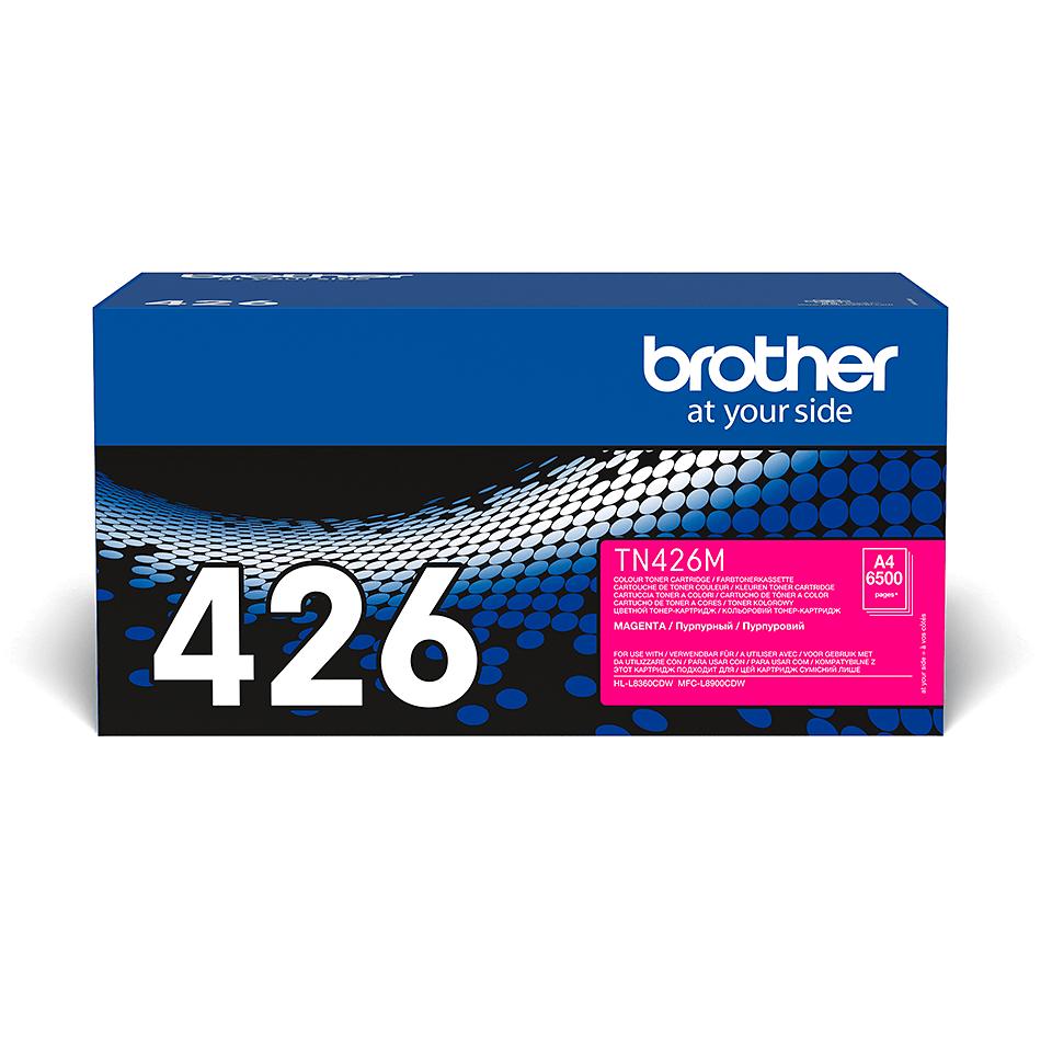 Brother TN-426M Tonerkartusche – Magenta 2