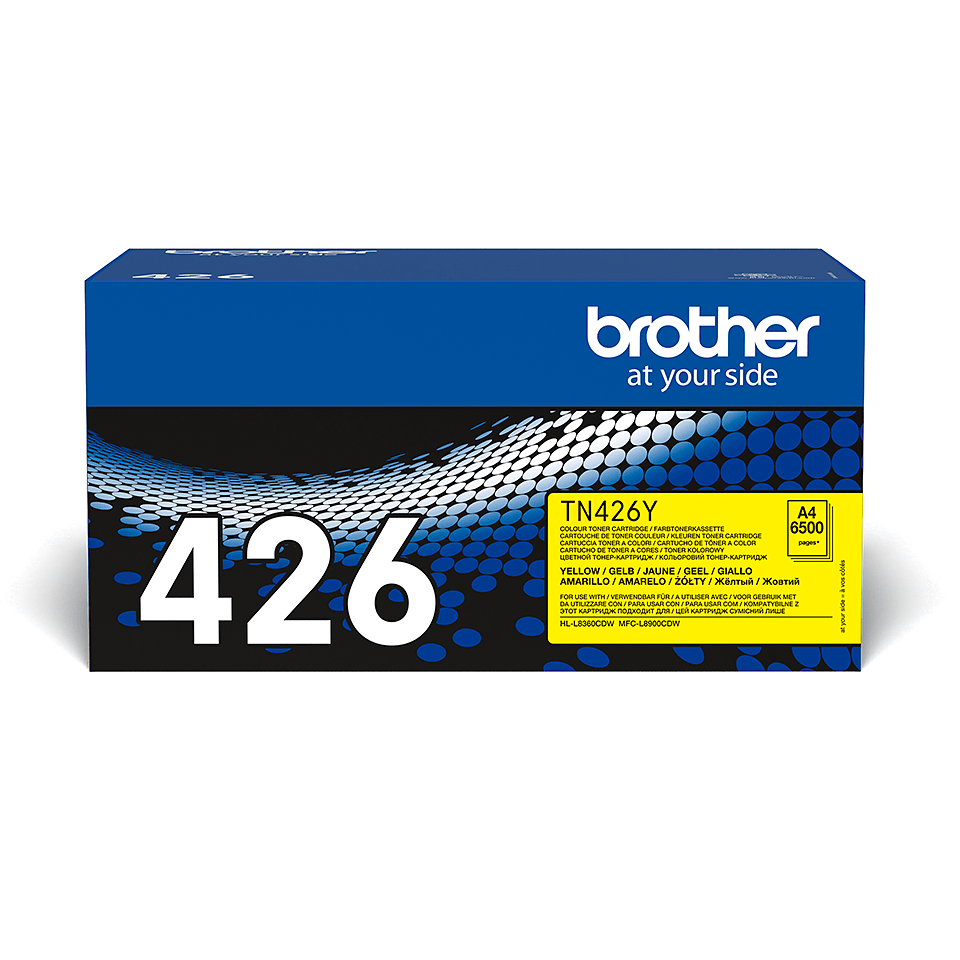 Brother TN-426Y Tonerkartusche – Gelb 1