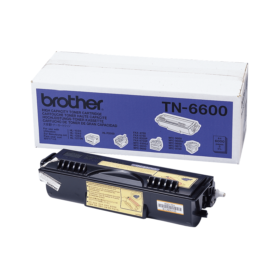 Brother TN-6600 Tonerkartusche – Schwarz 0