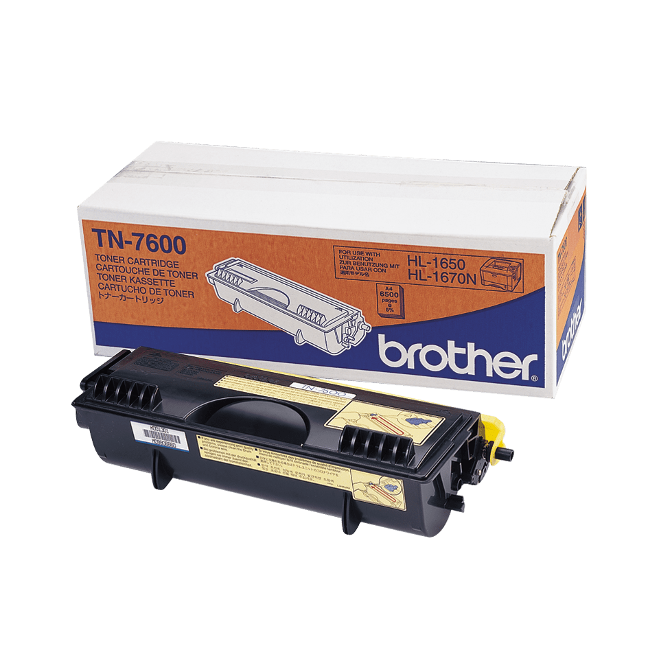 Brother TN-7600 Tonerkartusche – Schwarz