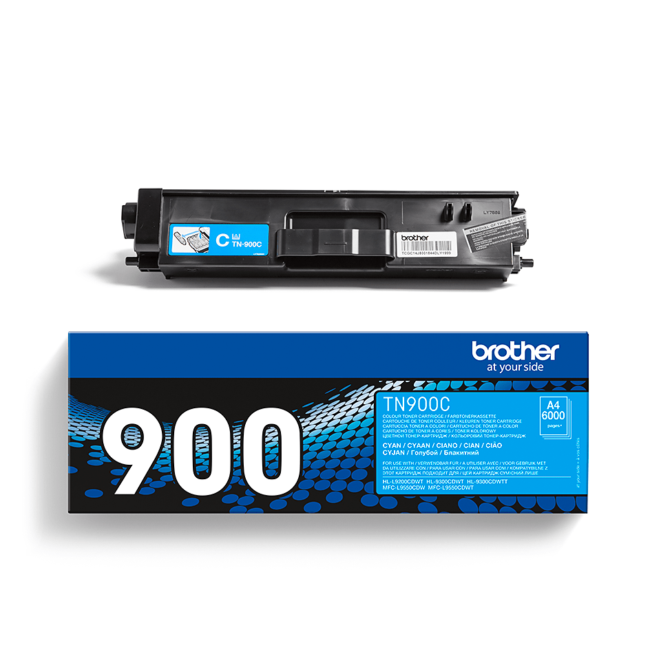 Brother TN-900C Tonerkartusche – Cyan