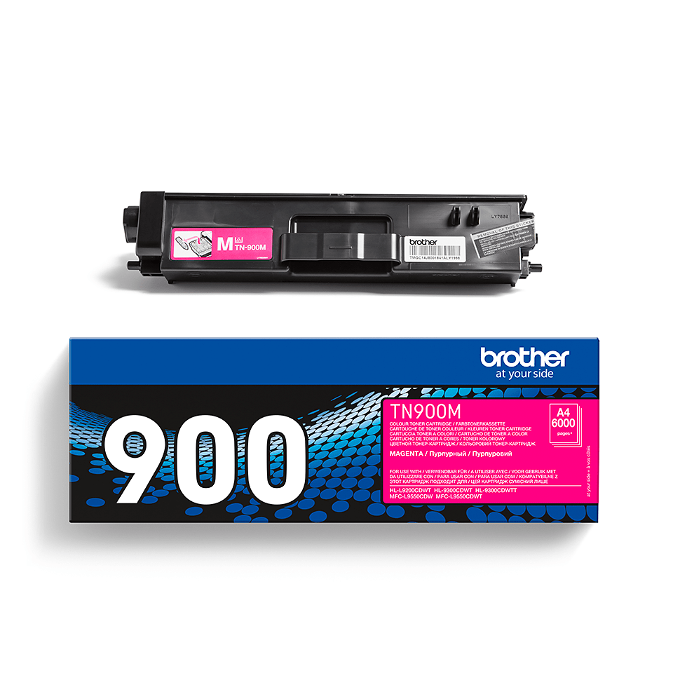 Brother TN-900M Tonerkartusche – Magenta