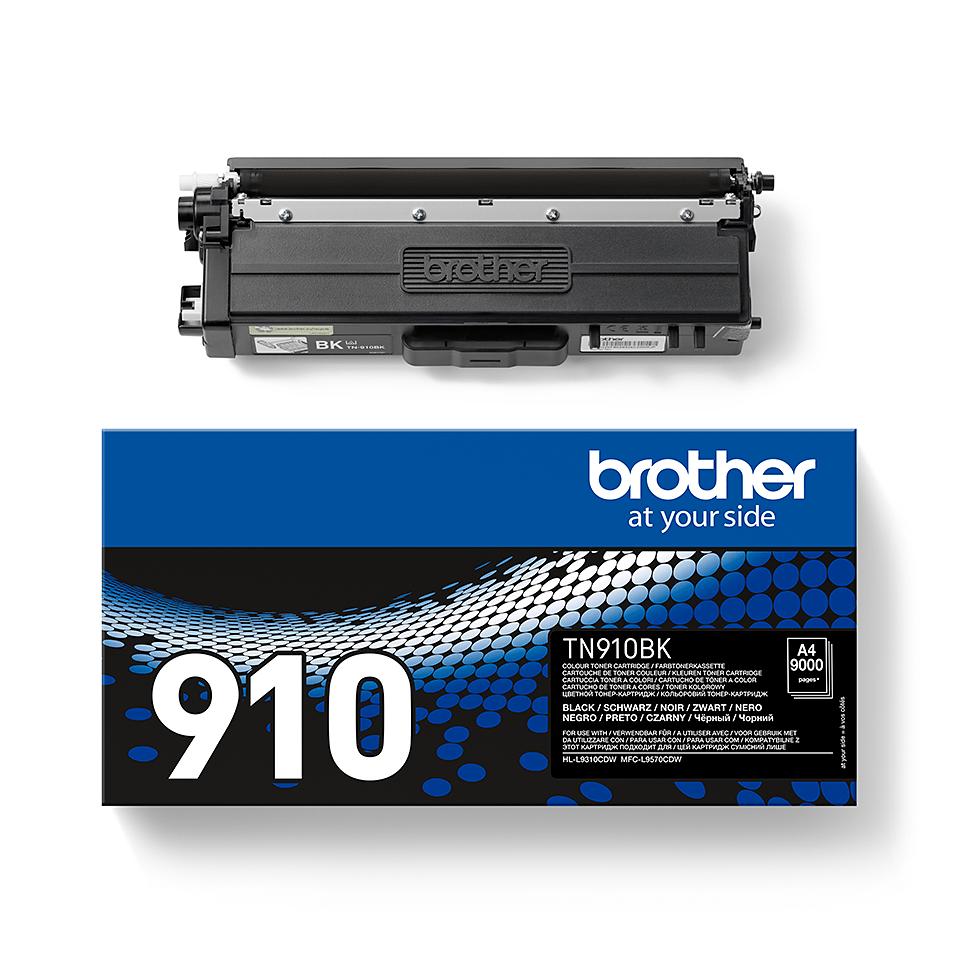 Brother TN-910BK Tonerkartusche – Schwarz