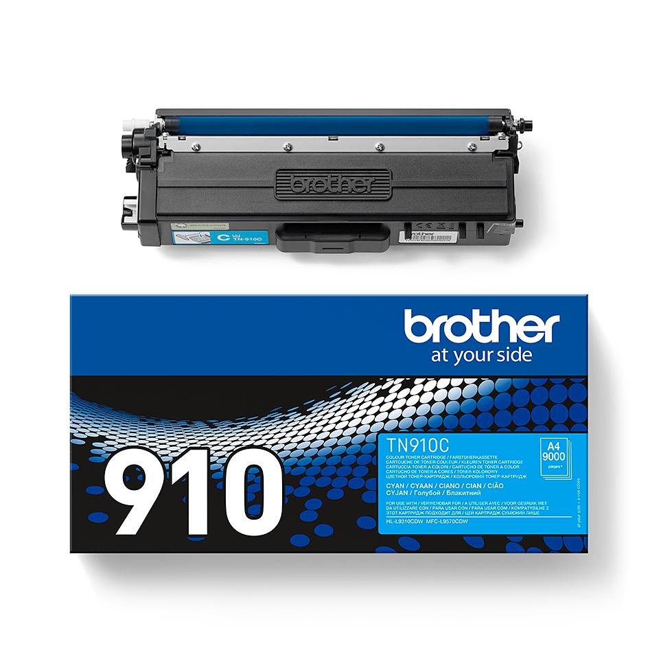 Brother TN-910C Tonerkartusche – Cyan 2