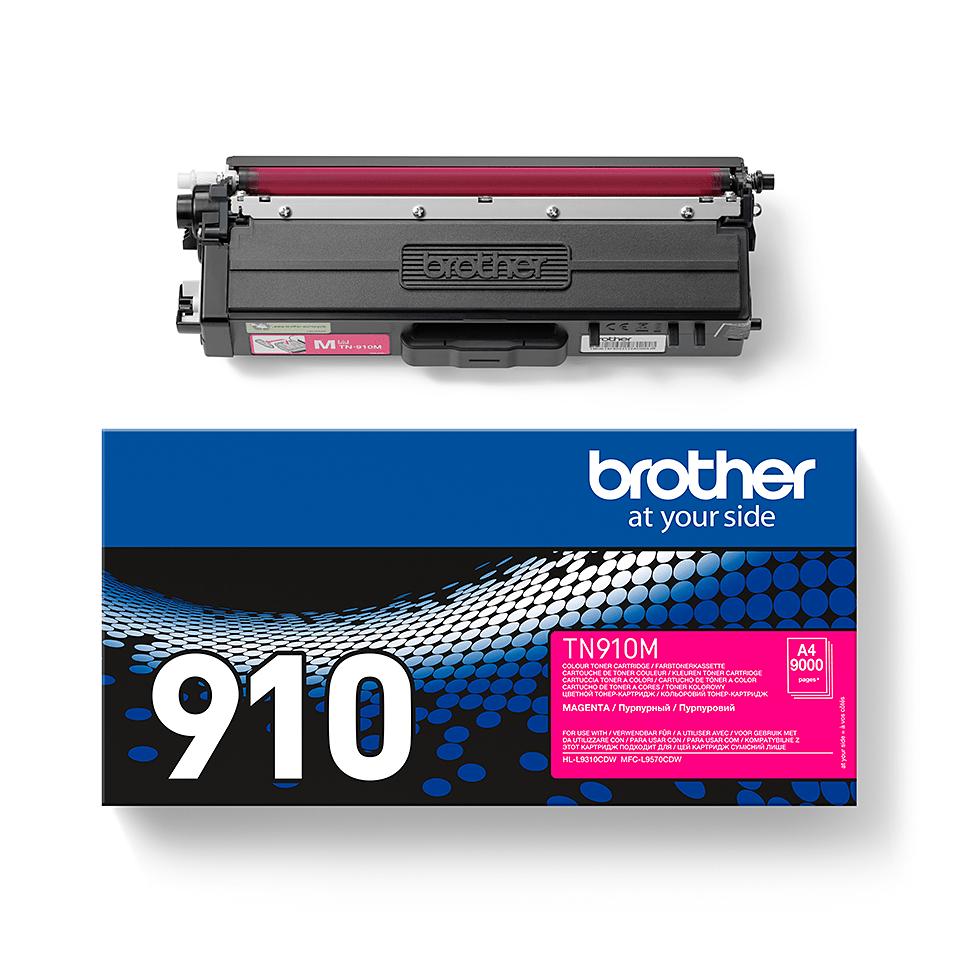 Brother TN-910M Tonerkartusche – Magenta 2