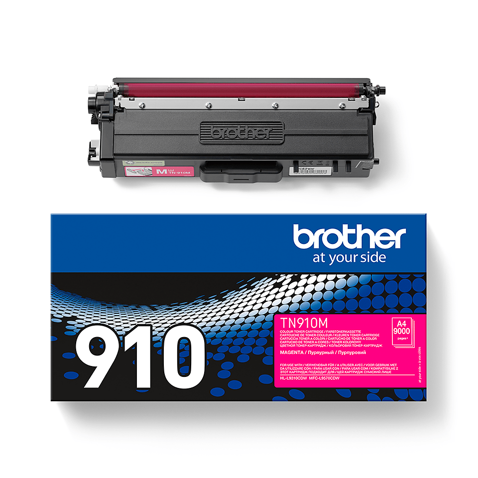 Brother TN-910M Tonerkartusche – Magenta 1