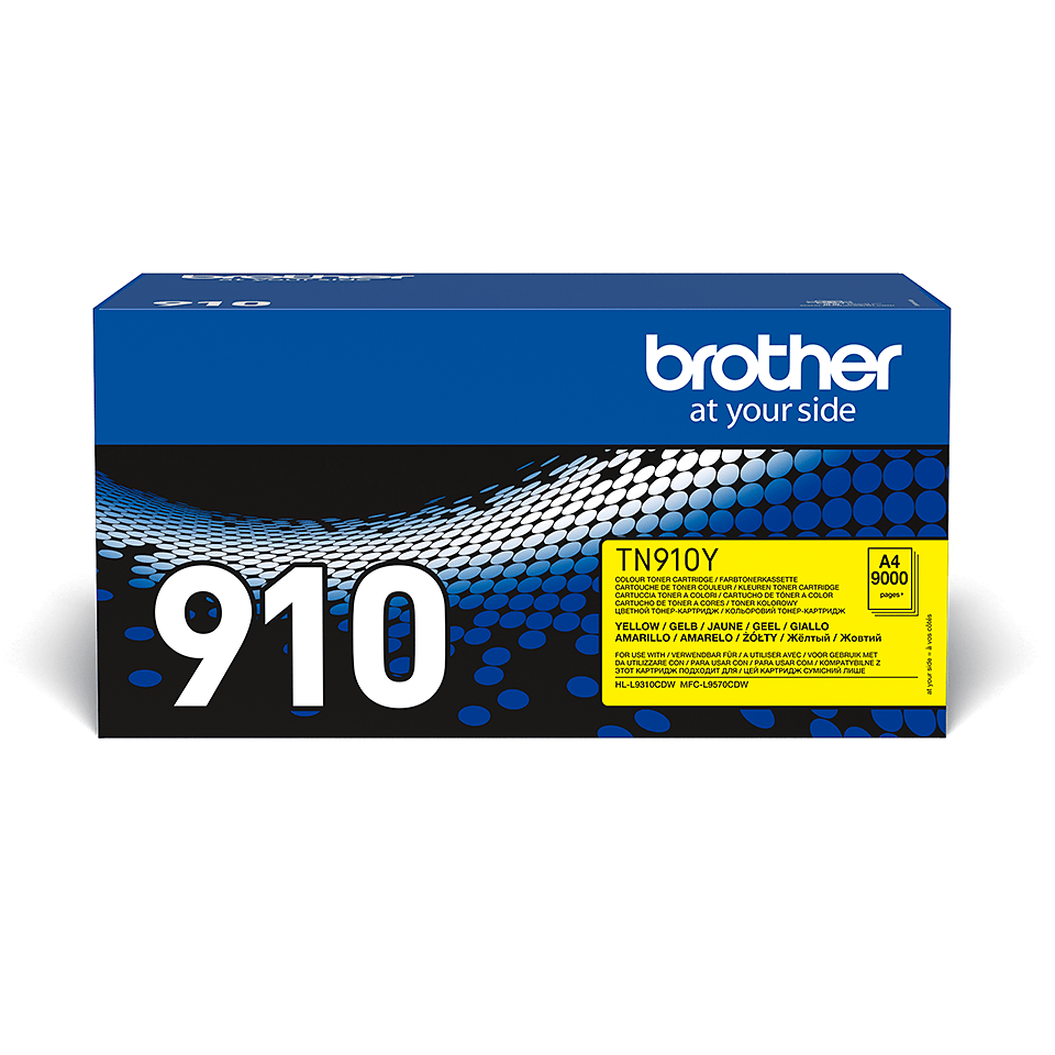 Brother TN-910Y Tonerkartusche – Gelb 0