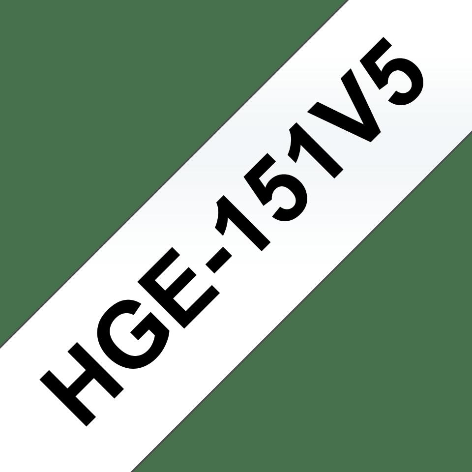 Brother HGe-151V5 Schriftband-Multipack 0