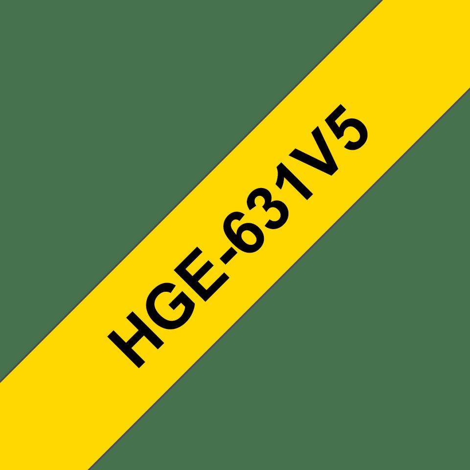 Brother HGe-631V5 Schriftband-Multipack 0