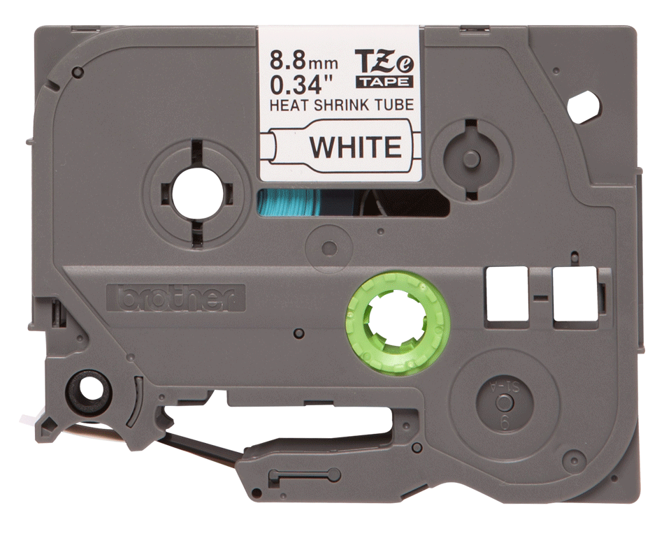 Brother HSe-221 Schrumpfschlauch – schwarz auf weiß 3