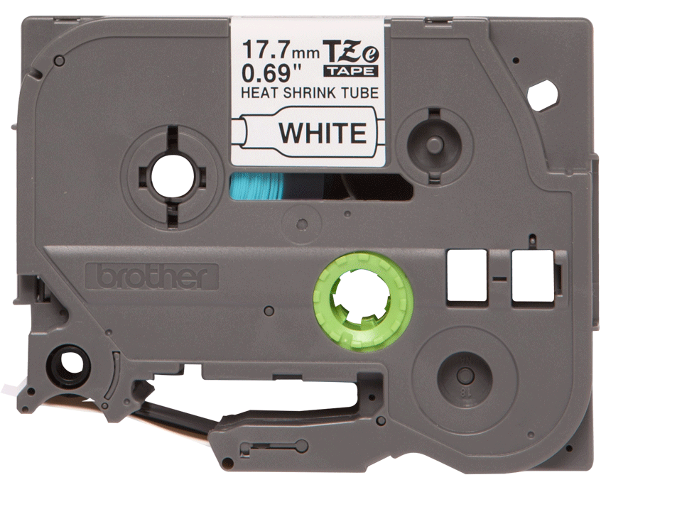 Brother HSe-241 Schrumpfschlauch – schwarz auf weiß 3