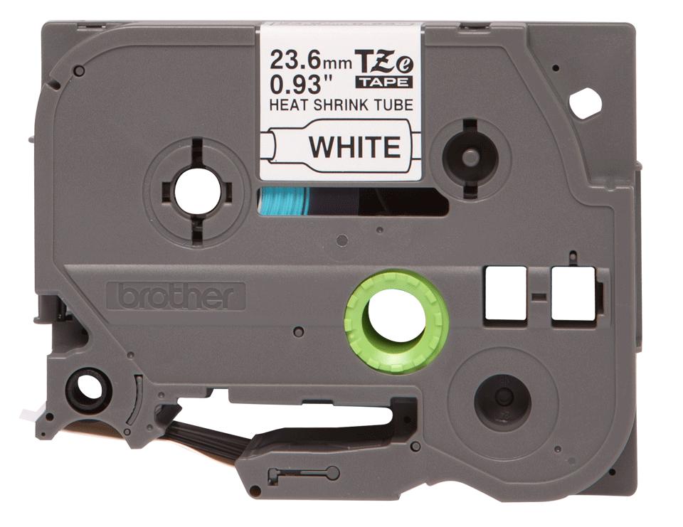 Brother HSe-251 Schrumpfschlauch – schwarz auf weiß 3