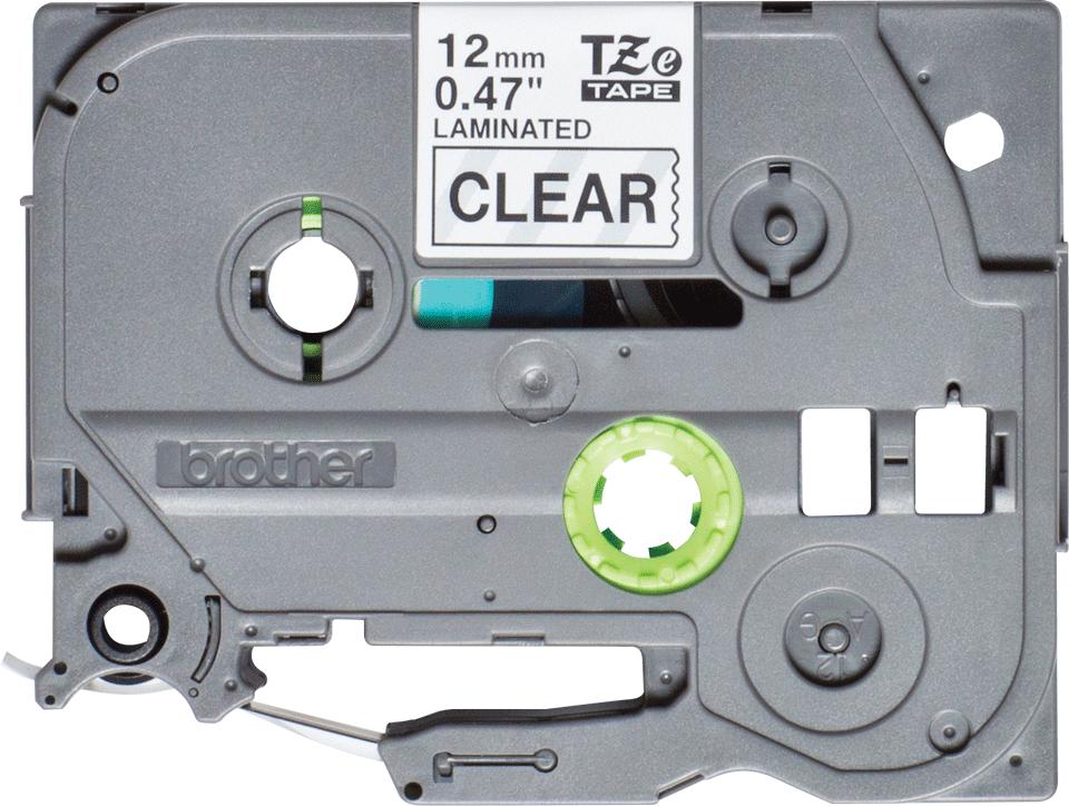 Brother TZe-131S Schriftband – schwarz auf transparent 0
