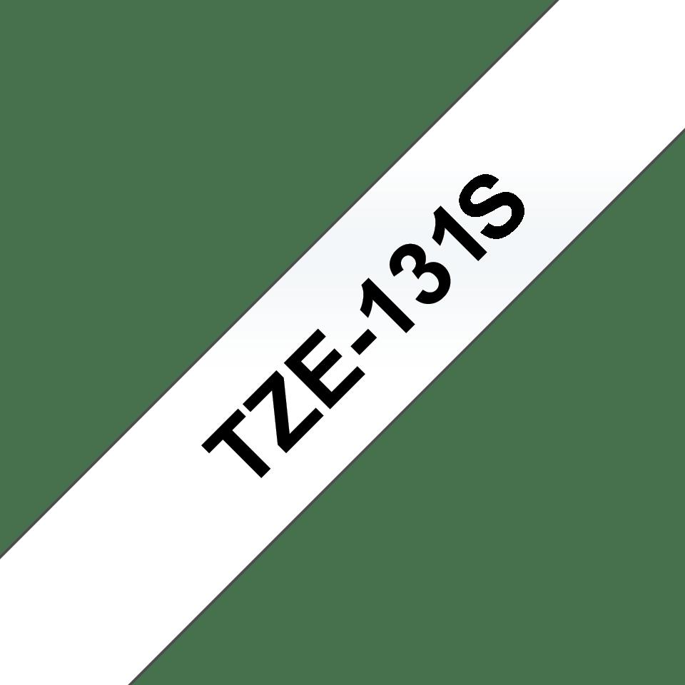 Brother TZe-131S Schriftband – schwarz auf transparent 2