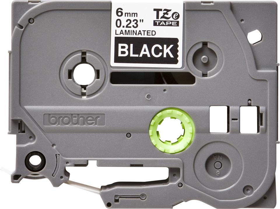 Brother TZe-315 Schriftband – weiß auf schwarz 3