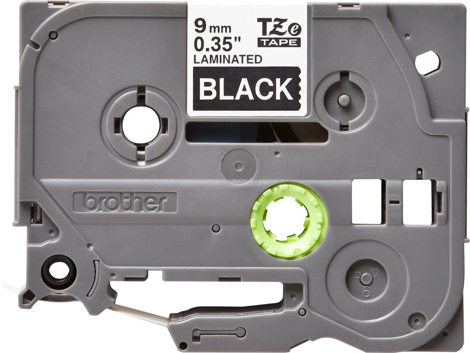 Brother TZe-325 Schriftband – weiß auf schwarz 3