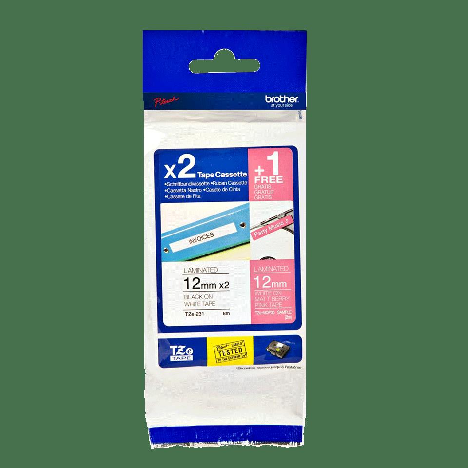 Brother TZe-32M3 Schriftband-Multipack