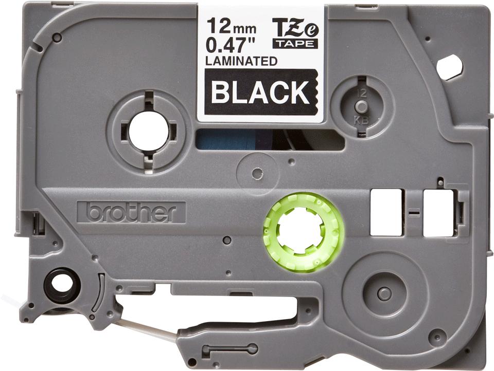 Brother TZe-335 Schriftband – weiß auf schwarz 3