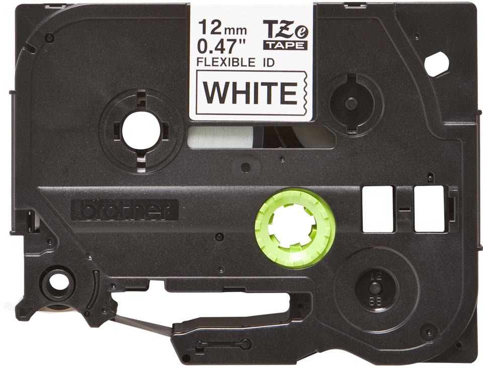 Brother TZe-FX231 Flexi-Tape – schwarz auf weiß 3