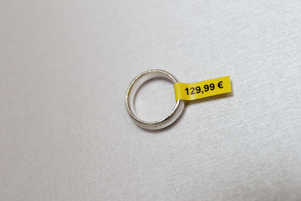 Brother TZe-FX611 Flexi-Tape – schwarz auf gelb