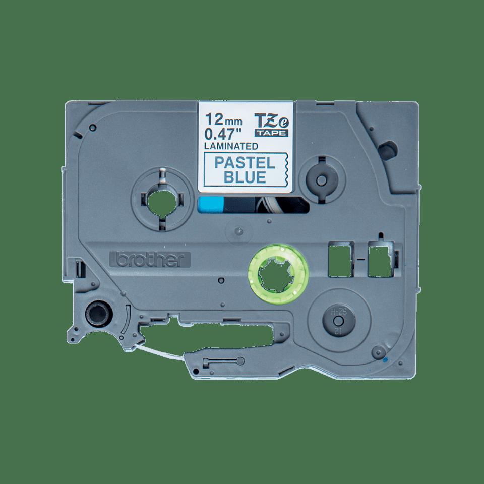 Brother TZe-MQ531 Schriftband – schwarz auf pastell blau