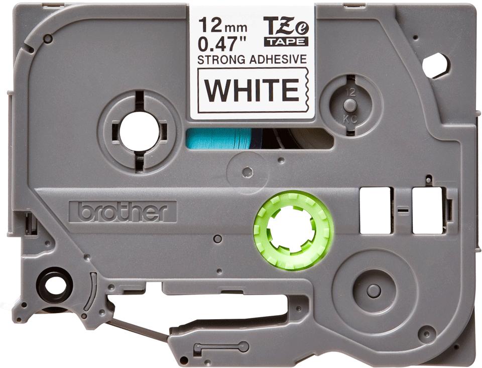 Brother TZe-S231 Schriftband – schwarz auf weiß