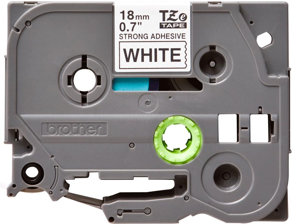 Brother TZe-S241 Schriftband – schwarz auf weiß 3