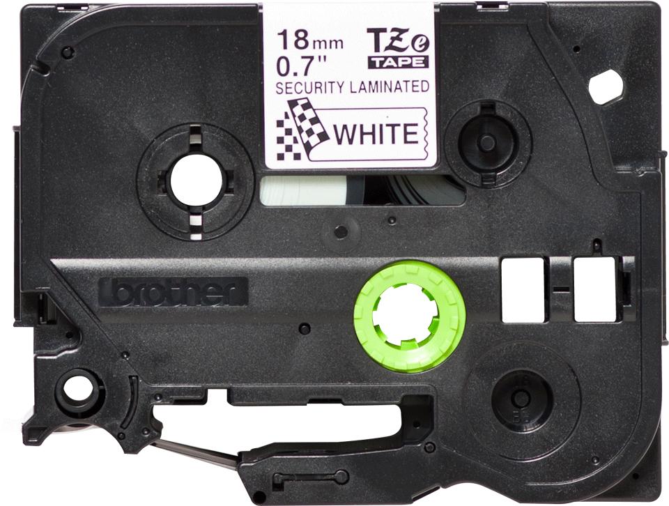 Brother TZe-SE4 Schriftband – schwarz auf weiß 3
